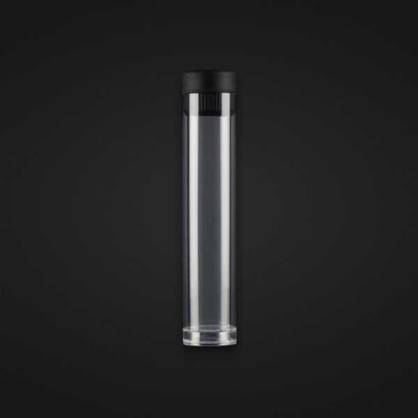 Air PVC Travel Tube with cap - 90mm