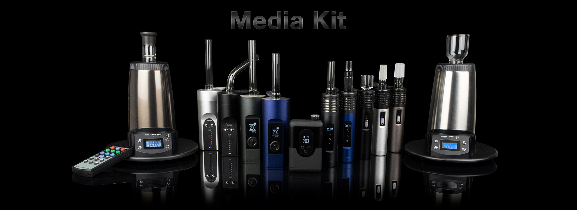 Arizer Media Kit